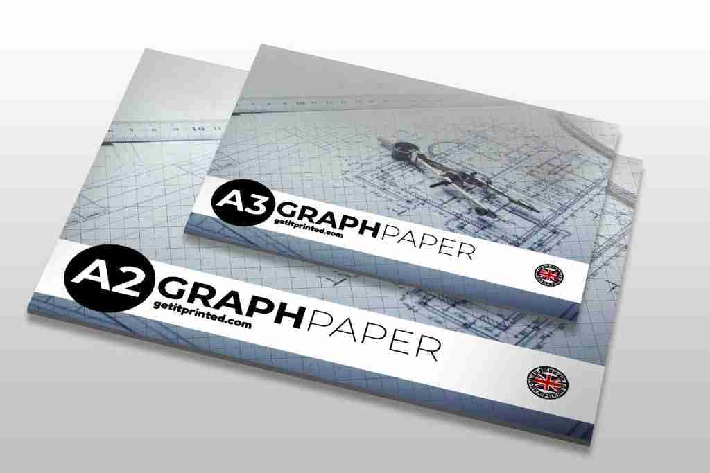 A2 and A3 Graph Paper Pads, getitprinted.com