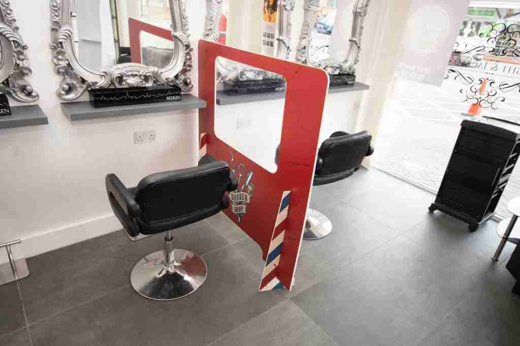 Protect Customers at your hair salon with divider screens, How To: Salons And Hairdressers Open Safely Post Lockdown, getitprinted.com