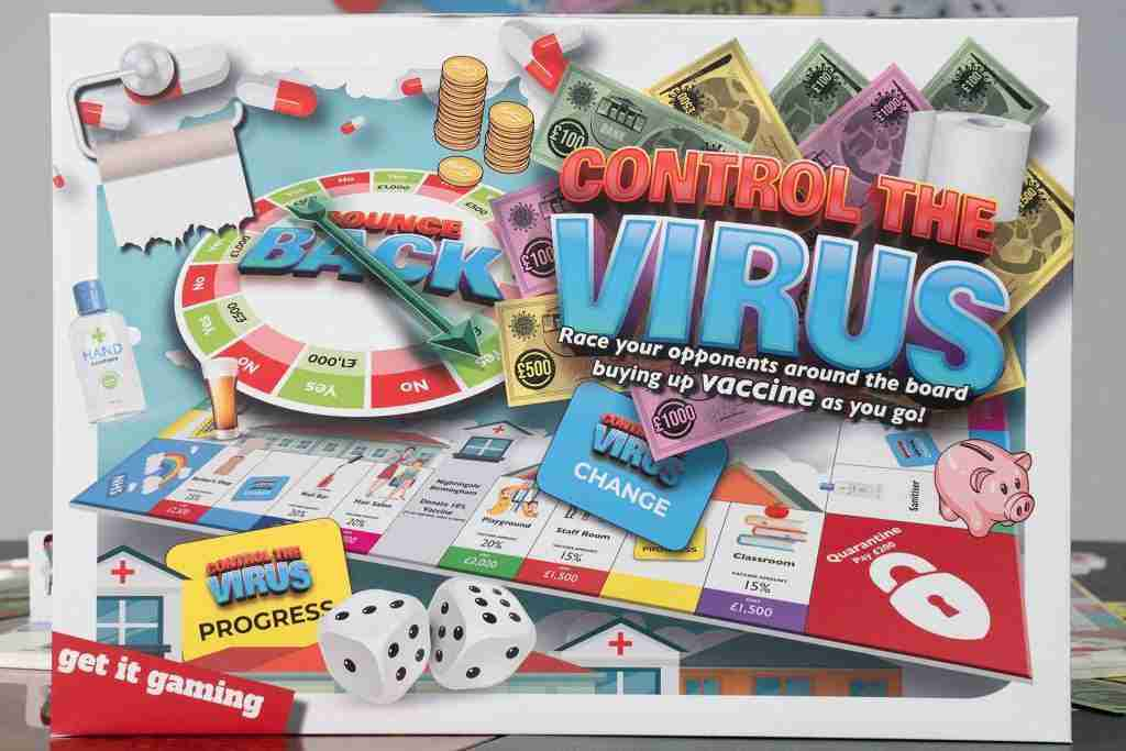 Control the Virus Board Game, getitprinted.com